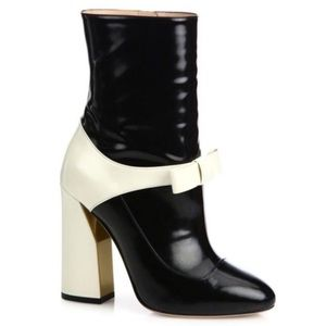 GUCCI Nimue Bowtie Ankle Boots